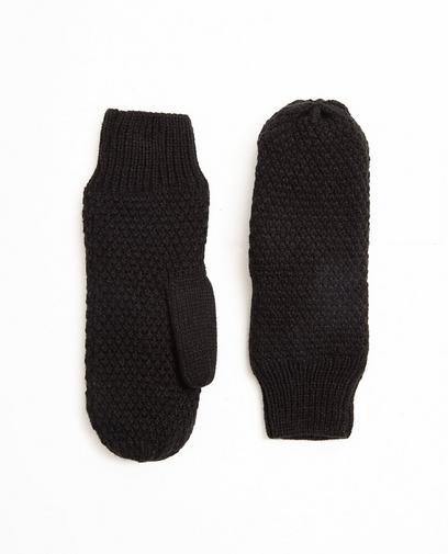 Moufles en fin tricot